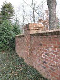 Best Brick Wall Images On Pinterest Brick Fence Garden Walls - Brick wall fence designs