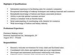 Freelance Makeup Artist Resume Sample by Commercial Artist Resume Sample Reentrycorps