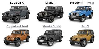 jeep rubicon colors 2014 2014 rubicon x package archive expedition portal