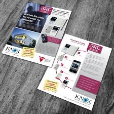 flyer designen lassen flyer für alarmanlagen flyer design briefing designenlassen de