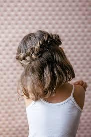 coiffure mariage enfant coiffure enfant avec tresse coiffure en image