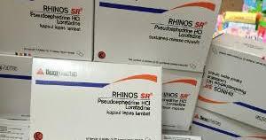 Obat Batuk Rhinos rhinos sr obat flu anjuran pemakaian dan efek singnya