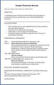 Sample Electrical Resume by The 25 Best Resume Objective Sample Ideas On Pinterest Good