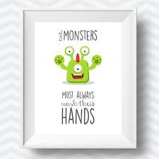 printable poster for hand washing kids bathroom rules bathroom printables bathroom printable