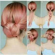 medium hair 60 easy updos for medium length hair