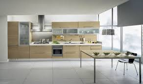 kitchens featuring beige kitchen cabinets in modern styles modern