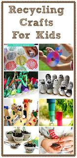 recycling crafts for things to make and do crafts and