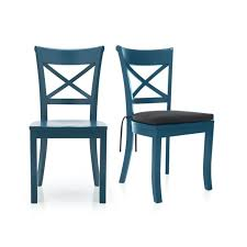 dining chairs astonishing blue wood dining chairs light blue