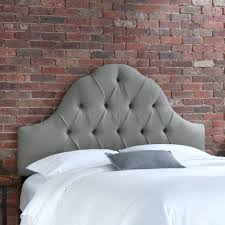 Velvet King Headboard Gray King Headboard U2013 Senalka Com