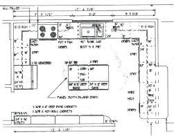 large kitchen floor plans plans large kitchen floor plans