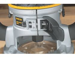 dewalt dw618 2 1 4 hp electronic variable speed fixed base router