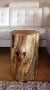 soft wood tree stump coffee table with glasstree stump coffee