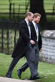 St Mark S Church Berkshire Prince William And Harry Arrive At The Church But Where U0027s Megan