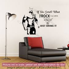 the rock quote wall stickers wwe wrestlers gym sports wall decals the rock quote wall stickers wwe wrestlers gym sports wall decals celebrity art ebay