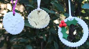 Easy Homemade Christmas Ornaments by 3 Easy Diy Christmas Ornaments Polymer Clay Tutorial Youtube