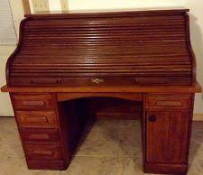 Antique Office Furniture For Sale by Vintage Roll Top Desk Ebay