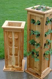 diy rustic wood planter box ideas for your amazing garden 11