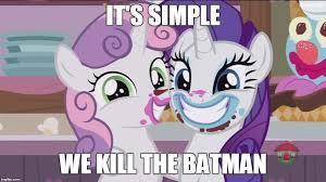 Meme Pony - 1430067 batman edit edited screencap forever filly meme pony