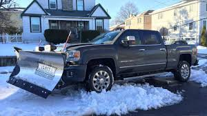 luxury semi trucks cabs gmc u0027s sierra 2500hd denali is the ultimate luxury snowplow rig
