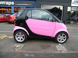 matte pink car wraap gallery smart car