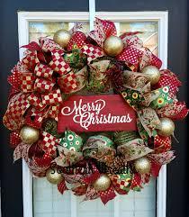 fashioned farm christmasoor wreath idea fresh