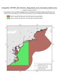 Map Of Mid Atlantic States by Data Download Greater Atlantic Regional Fisheries Office