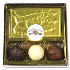 new year chocolate happy new year chocolate party favors and gifts