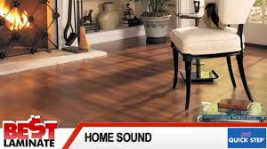 Quick Step Laminate Floor Reviews Quick Step Home Sound Review Of Laminate Wood Flooring Youtube
