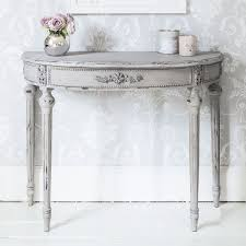 white half moon table half moon table for aesthetical look hometowntimes linda g