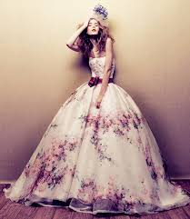 romantic flower wedding dress wedding dress with wedding