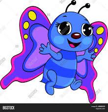 funny butterfly cartoon vector u0026 photo bigstock