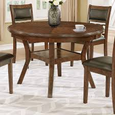 brown traditional 5 piece round dining set cally rc willey
