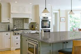 Kitchen Top Materials Elegant Style Theme With Dark Olive Green Kitchen Countertop