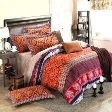 Tribal Print Bedding Moroccan Duvet Covers Bedding Bohemian Bedding Sets Queen Cotton