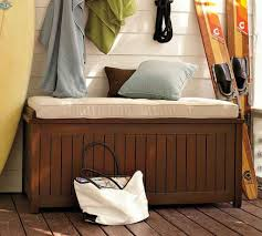 Waterproof Patio Storage Bench by Outdoor Storage Bench Home Design By Fuller