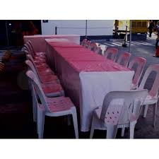 table chairs rental tent tables and chairs rental makati claseek philippines