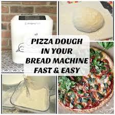 Bread Machine Pizza Dough With All Purpose Flour Homemade Bread Machine Pizza Dough Craftingafamily Com