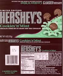 mike u0027s candy bar page hershey u0027s cookies u0027n u0027 mint