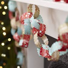 homemade christmas decorations paper chains loving right now