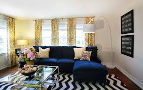 blue livingroom 20 amazing blue black white yellow living rooms home design lover