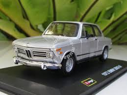 bmw 2002 model car bburago 1 32 diecast 1972 bmw 2002 tii silver hobby