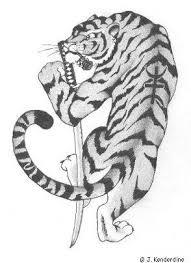 tiger tattoo design by aingealdorcha on deviantart