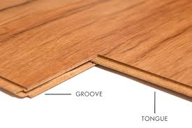 what is the tongue and groove on laminate flooring