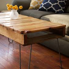 coffee table pallet coffee table instructions for diy with iron