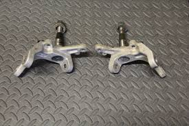 2 x front spindles steering knuckle yfz450 yfz 450 raptor 700 fits