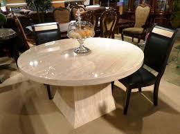 dining tables round marble table and chairs stone top dining