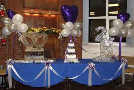 silver wedding anniversary decorations ideas weddingood