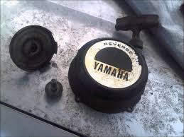 yamaha big bear 350 recoil start install youtube