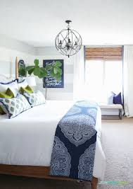 Navy Blue Bedroom by Will An All Blue And White Home Look Weird Traditional Bedroom