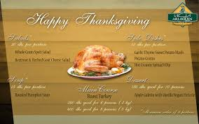 thanksgiving menu arlequin caterers